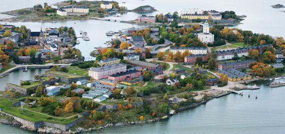 Suomenlinna, fortress island front of Helsinki