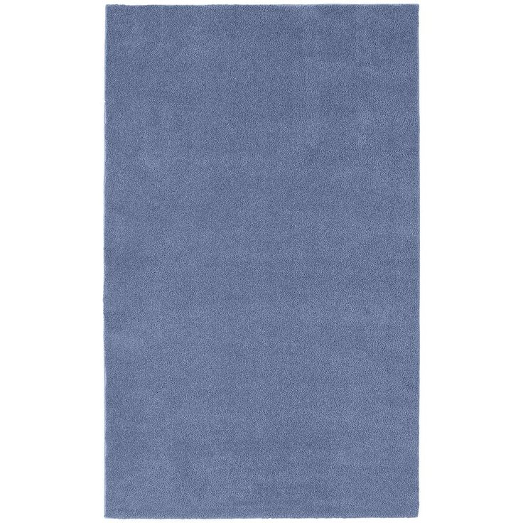 Garland Rug Bathroom Carpet - 5' x 8', Blue