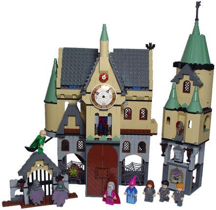 4842 hogwarts castle instructions
