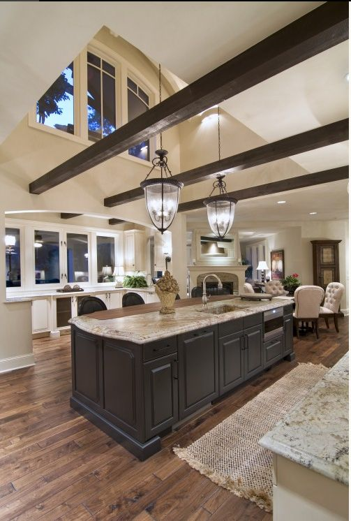 39 Big Kitchen Interior Design Ideas For A Unique Kitchen: 25+ Best Ideas About Dark Cabinets On Pinterest