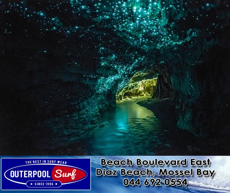 Most Beautiful and Breathtaking Places in the World. Glow worm cave, New Zealand.  #BeautifulPlaces #NewZealand #GlowWormCave