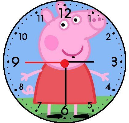 Peppa Pig Wall Decor Clock Want To Know More Click On