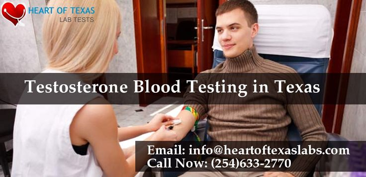 Get now #testosterone #bloodtest confidential result online in our #medicallab at #Waco.