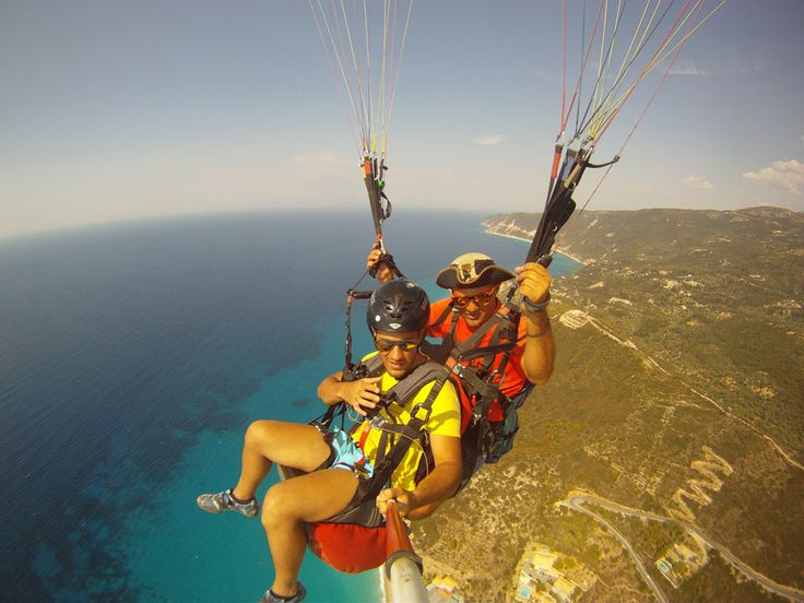 Paragliding and paramotoring in Greece - A Greek Adventure