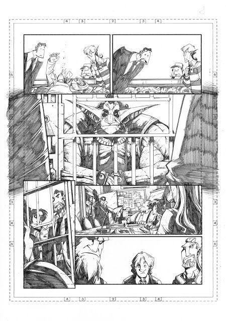 Marco Maccagni's Artworks: Archon#3 page08
