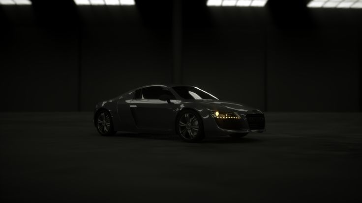 My first Audi R8 rendering with Cinema 4D and Octane
