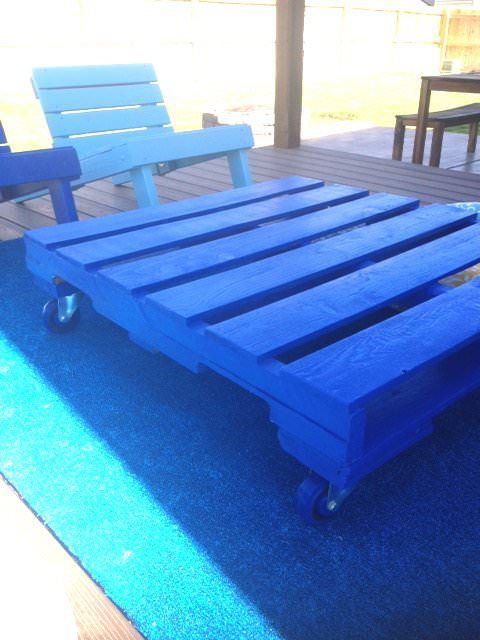 Diy: Outdoor Pallet Patio Set Recycled Furniture Recycled Pallets