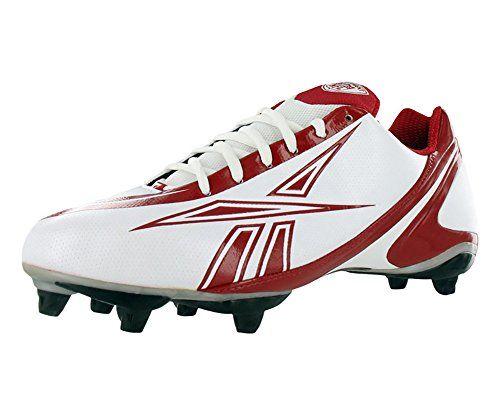 Reebok Pro Burner Speed Low SD3 Men's Football Shoes Size US 15, Regular Width, Color Red/White - http://footballfootwear.nationalsales.com/reebok-pro-burner-speed-low-sd3-mens-football-shoes-size-us-15-regular-width-color-redwhite/
