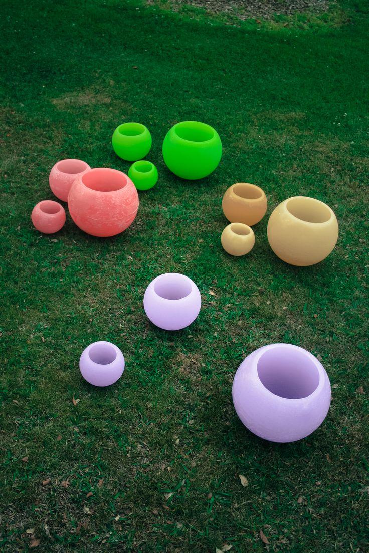 Fanales esfericos de diferentes colores !