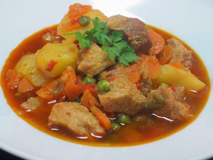 Estofado de cerdo con verduras Ana Sevilla GM