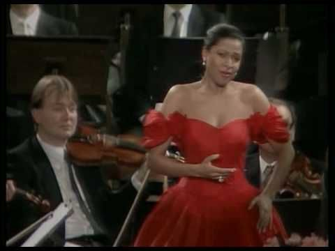 ▶ Kathleen Battle/Karajan - Voices of Spring 1987 Vienna New Year's Concert - YouTube