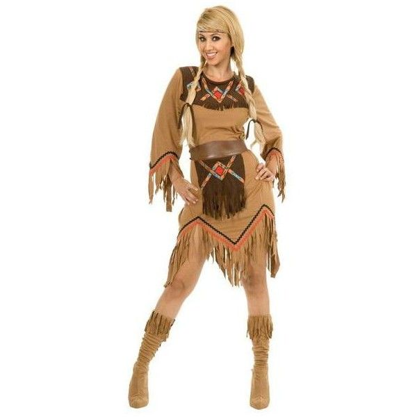 Women's BuySeasons Sacajawea Indian Maiden Adult Costume (55 CAD) ❤ liked on Polyvore featuring costumes, blue, tops & tees, adult indian princess costume, blue costume, blue halloween costume, lady costumes and womens halloween costumes