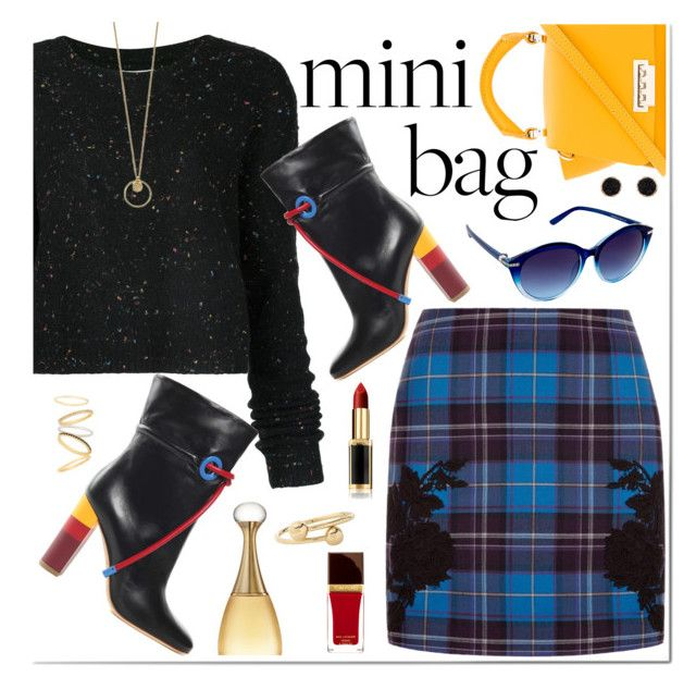 """""""So Cute: Mini Bags"""" by hubunch ❤ liked on Polyvore featuring ZAC Zac Posen, Public School, Malone Souliers, La Perla, Nanette Lepore, Humble Chic, L'Oréal Paris, Christian Dior, J.W. Anderson and Madewell"""