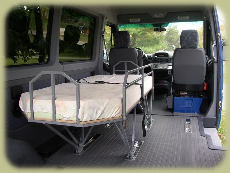 Traveling Bed For Dodge Sprinter Van 0 Van Dwelling