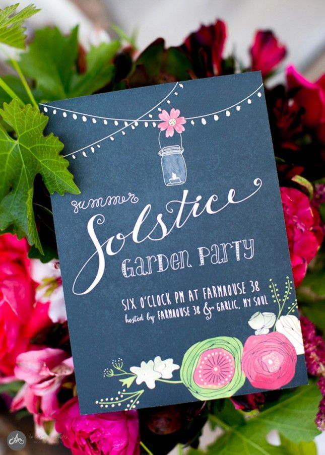 Let your guests RSVP in style with these chic party invites.