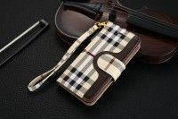 Burberry iPhone 7 Plus Covers Wallet Beige Sleeve Coque Fundas Capa Para