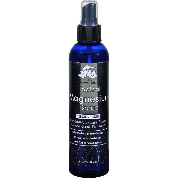 White Egret Topical Magnesium Spray - 8 oz
