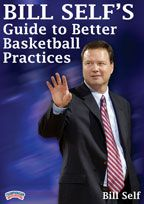 Bill Self's Guide to Better Basketball Practice - Coach's Clipboard #Basketball DVD Store