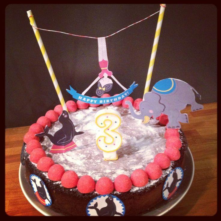 gâteau cirque diy telechargable