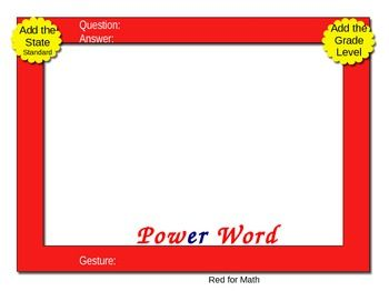 Electronic PowerPix Templates from Transitional Kinder with Mrs.O