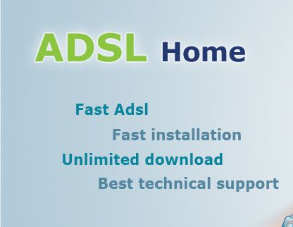 Get the best ADSL offers and services in Egypt from http://www.im-dsl.com/Offers/24/ADSL-Offer. Choose any type of ADSL connection and speed depending upon your needs and area of use anytime online.
