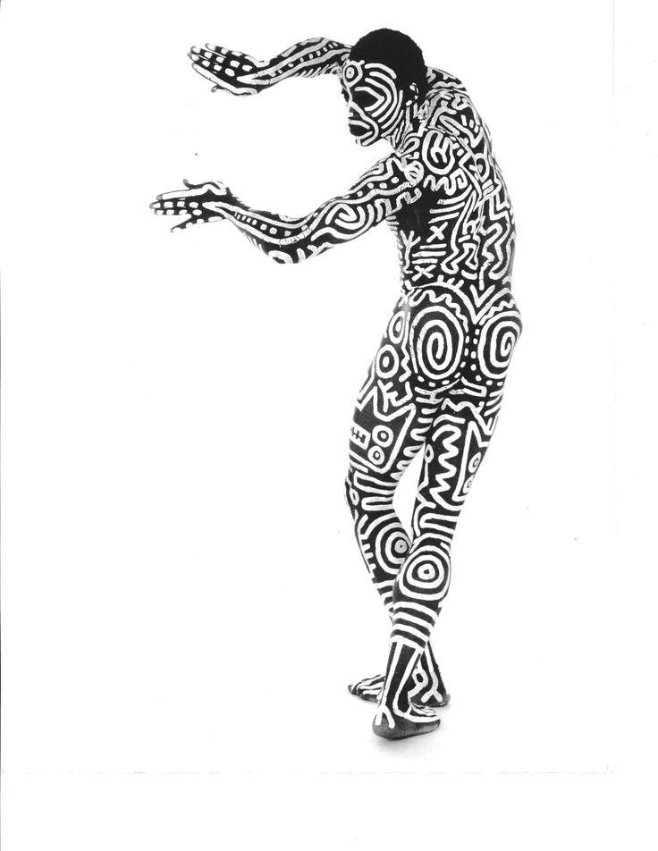 inspiring art x love it -  Keith Haring's x Bill T. Jones