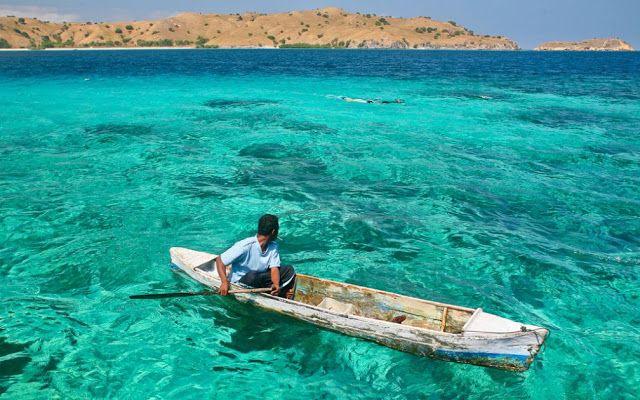 Pantai Pink di TN. Komodo adalah lokasi snorkeling yang sangat diminati wisatawan. Hati-hati dengan arusnya yang lumayan kencang ya! #PesonaIndonesia (Pink Beach, Komodo National Park, East Nusa Tenggara, Indonesia)