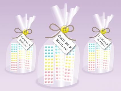 Top 56 ideas about cute as a button themed party on for Party decorations you can make at home