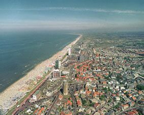Zandvoort, Netherlands.  Used to work there in various restaurants when I was still in high school