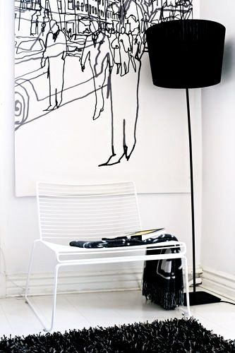 Via DEC Design | HAY Hee Chair | Black and White | Marimekko