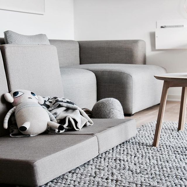 KK 4 fold from by KlipKlap. Multipurpose furniture in Danish design for both kids and adults. Photo credit: @lillely_