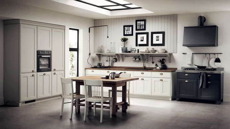 Favilla Kitchen - design by Vuesse.  A classic country kitchen that never goes out of style.