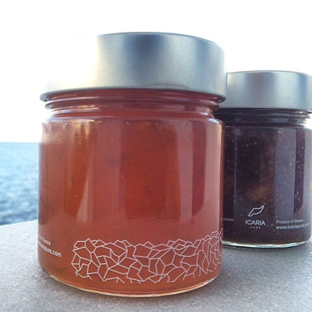 Mouthwateringly good apricot preserve and fig chutney by icaria pure, available now at www.icariapure.com