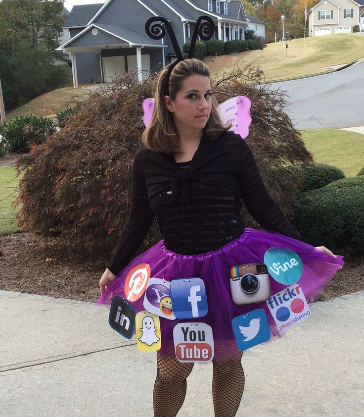 Social Butterfly Halloween Costume