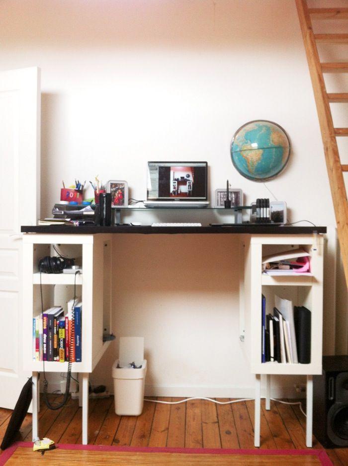 les 25 meilleures id es de la cat gorie bureau debout assis sur pinterest pupitres meilleur. Black Bedroom Furniture Sets. Home Design Ideas