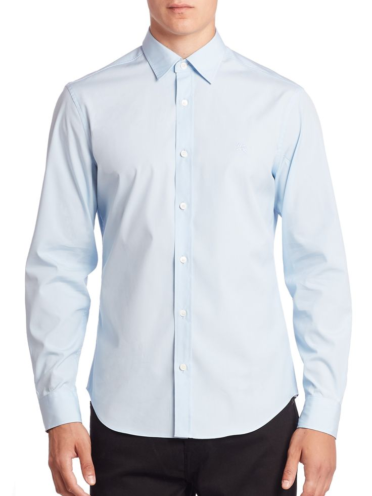 BURBERRY Cambridge Button-Down Shirt. #burberry #cloth #all