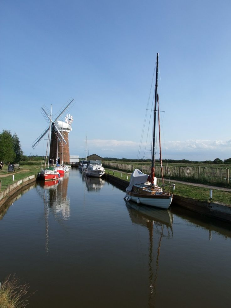 Norfolk Broads (photo by Gavin Atkins)