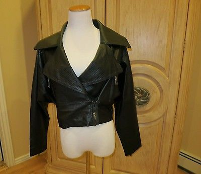 Nasty Gal collection Divert Leather Moto Jacket new with tags size Small