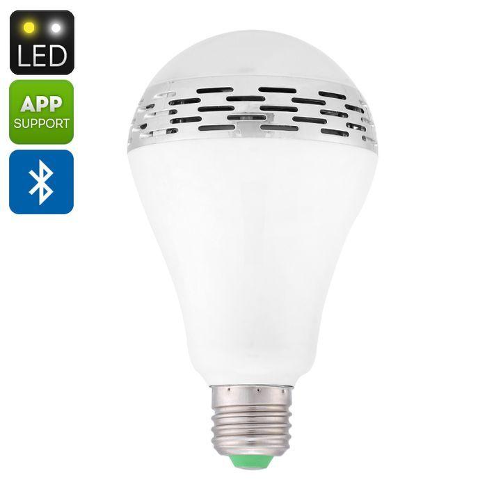 Fancy E LED Light Bulb Speaker Watt Light Watt Speaker Bluetooth IOS