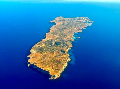 Lampedusa, a drop of land in the heart of the sea!