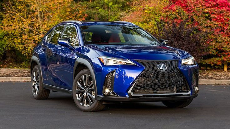 2020 Lexus UX 200 FSport Drivers' Notes The little