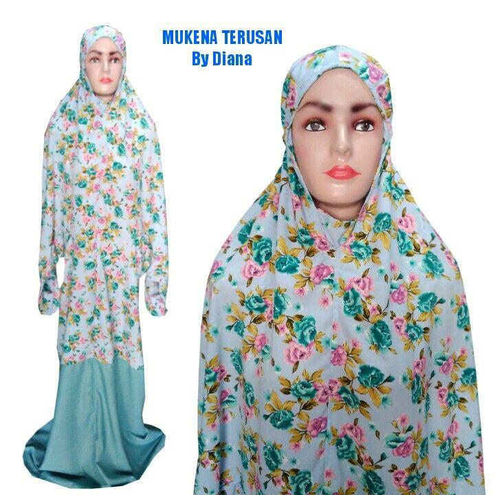 Mukena Terusan Material Wolvis Rp 185 Rb WA 085 222 000 979