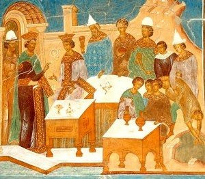 """Parable of the Lowest Seat at the Feast. BIBLE SCRIPTURE: Luke 14:8, """"When thou art bidden of any man to a wedding, sit not down in the highest room; lest a more honourable man than thou be bidden of him;"""" - http://access-jesus.com/Luke/Luke_14.html"""