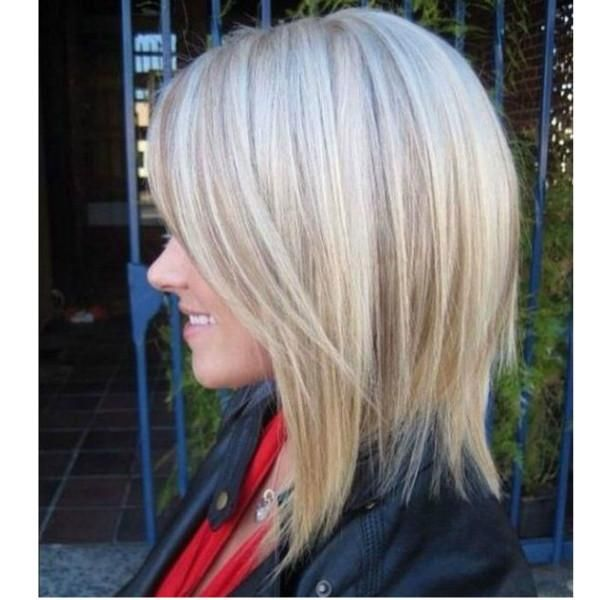 Lace Front Bob Wig Highlight Blonde Short Human Hair Wig