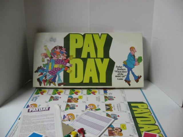 Another great game from my childhood.Favorite Boards, Childhood Memories, Payday Plays, Favorite Games, Boards Games, Board Games, Melissa Magpie, Fun Time, Payday Boards