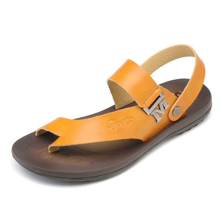 Phalanger 2013 casual sandals male sandals men's genuine leather summer sandals $43.43
