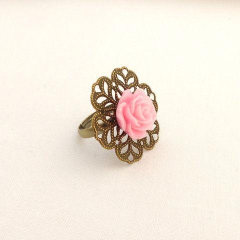 Rose vintage ring