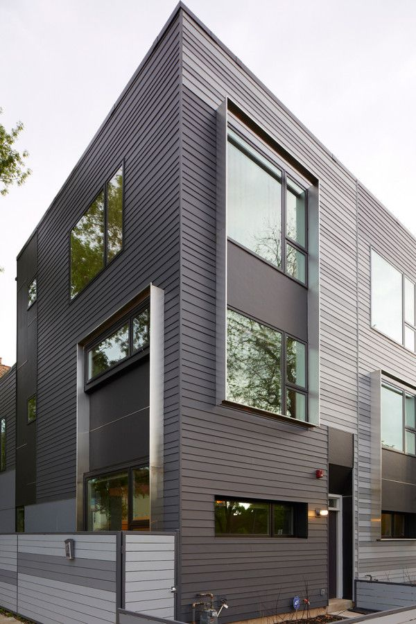 eco friendly row houses. i like lots of things about this project, although the interior is a bit too stark for my liking.