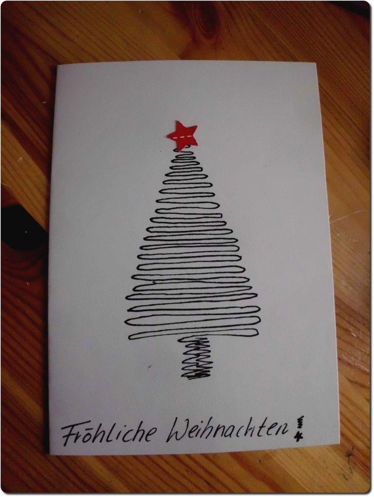 bildergebnis f r weihnachtskarten selber malen. Black Bedroom Furniture Sets. Home Design Ideas