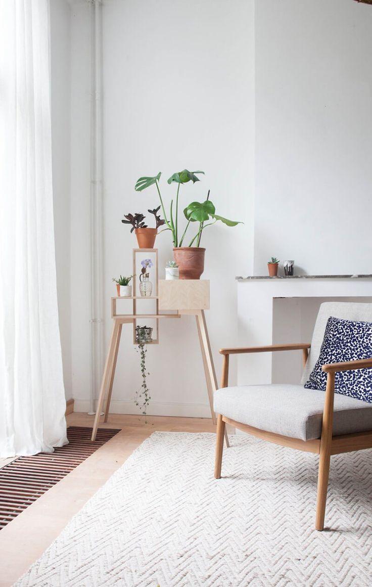 Les 25 meilleures id es de la cat gorie supports pour - Idees decors du milieu du siecle salon ...